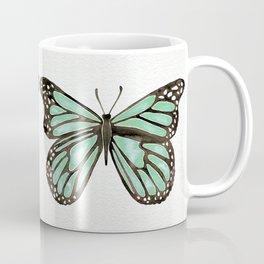 Mint Butterfly Coffee Mug