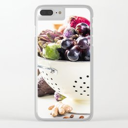 healthy food Clear iPhone Case