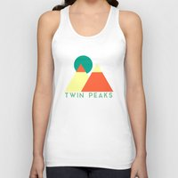 twin peaks Tank Tops featuring Twin Peaks by VV_V2