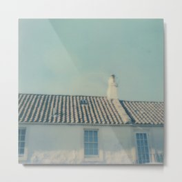 polaroid lovers ~ Scottish houses Metal Print