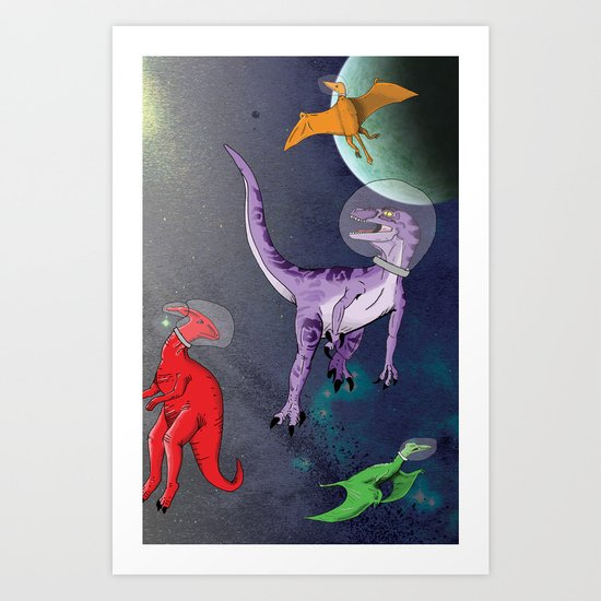 Extinction: The Final Frontier Art Print