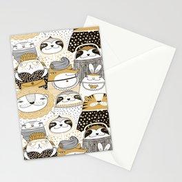 Urban Animals Stationery Cards