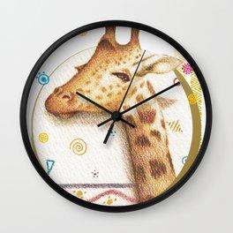 Jirafa-ntástica Wall Clock