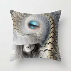 fashion surreal Throw Pillow