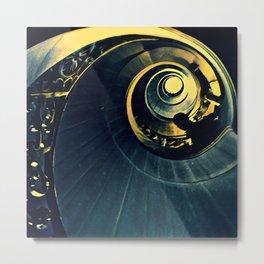 La spirale Metal Print