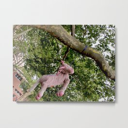 Disillusioned Unicorn Metal Print