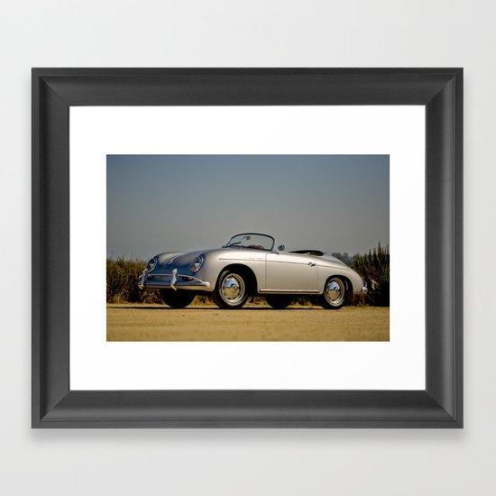 Porsche Speedster Framed Art Print