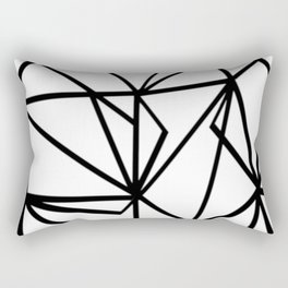 out focus Rectangular Pillow