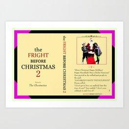 Danny Phantom The Fright Before Christmas notebook Art Print
