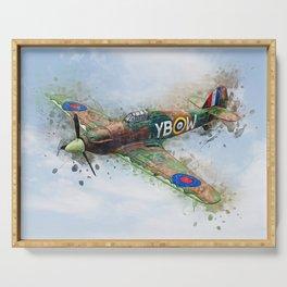Hawker Hurricane Mk II Serving Tray