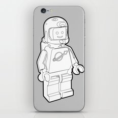 Vintage Lego Spaceman Wireframe Minifig iPhone & iPod Skin