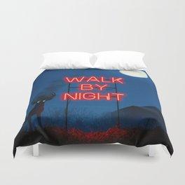 Walk by Night Duvet Cover