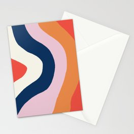 moab, canyon stripes Stationery Cards