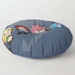 Chibi Friends Floor Pillow