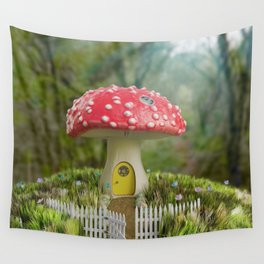 Lia's Cottage Wall Tapestry