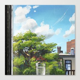 Mid-morning Canvas Print