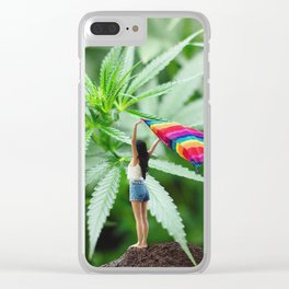 Flying Booster Clear iPhone Case