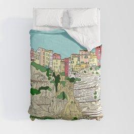 Bonifaccio in Corsica Comforters