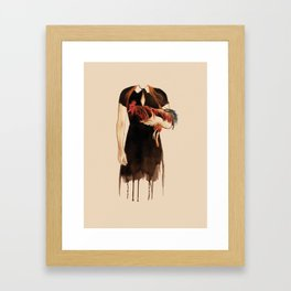 The year of the Rooster Framed Art Print