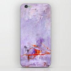 orange & dusty violet iPhone & iPod Skin