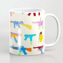 Toy Gun Pattern Coffee Mug
