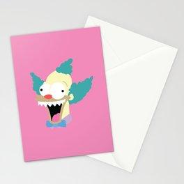 Evil Krusty Stationery Cards