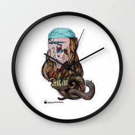 Tahupotiki Koraha and the cobrapion Wall Clock