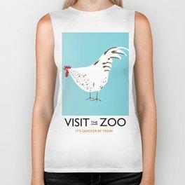 Visit the Zoo Hen edition Biker Tank