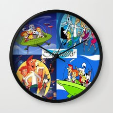 The Jetsons Wall Clock