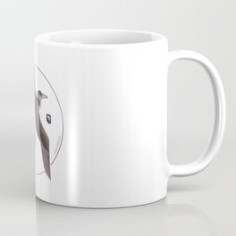 Pelagornis sandersi with amethyst Coffee Mug