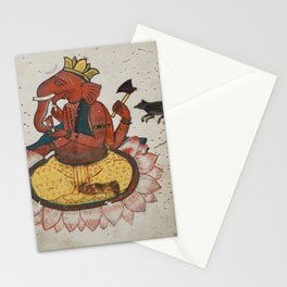 Ganesha, Lord of Obstacles - 1585 Stationery Cards