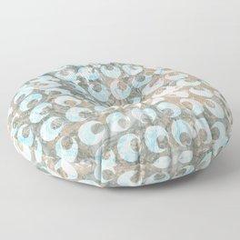 New Tendances dark marble Floor Pillow