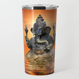 Elephant God Ganesha Travel Mug