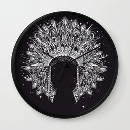 Chieftain's Headdress Wall Clock