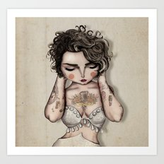Vinila Von Bismark Art Print