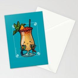 Food Series - Trinidad Cobbler (blue) Stationery Cards