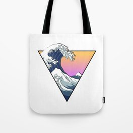 Great Wave Aesthetic Tote Bag