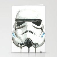 stormtrooper Stationery Cards featuring Stormtrooper by McCoy