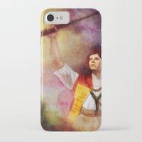 les mis iPhone & iPod Cases featuring  Les Misérables Enjolras Genderbend by Kjerstin A