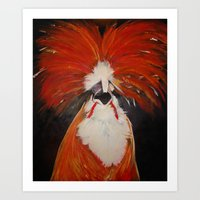 Who Ordered the Chicken Art Print