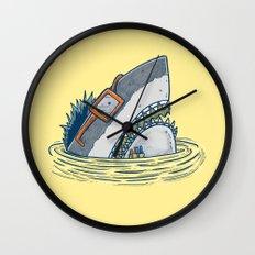 The Nerd Shark Wall Clock