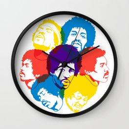 Hendrix Overprint Wall Clock
