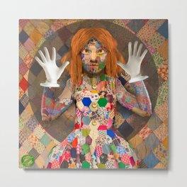 Scraps, the Patchwork Girl of Oz Metal Print