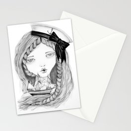 Loose Lips Sink Ships Stationery Cards