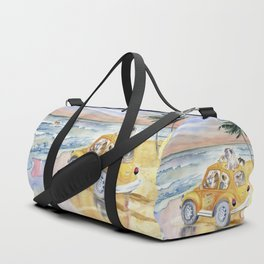 Dogs On Vacation Duffle Bag