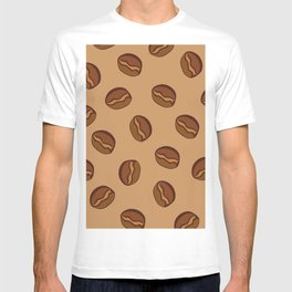 Pattern - Coffee Beans T-shirt