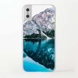 Glossy Tranqulity Clear iPhone Case