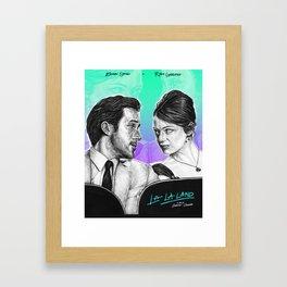 La La Land - Movie Inspired Art Framed Art Print