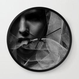 Mysterious Girl Wall Clock