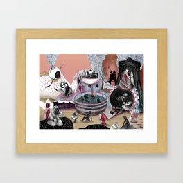 Tondal's Vision (in colour) Framed Art Print